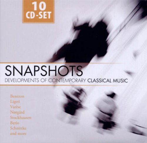Snapshots - Developments Of Contemporary Classical Music : 10 cd