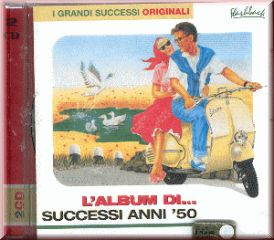 L'ALBUM DI ... SUCCESSI ANNI 50 ( 2 CD )