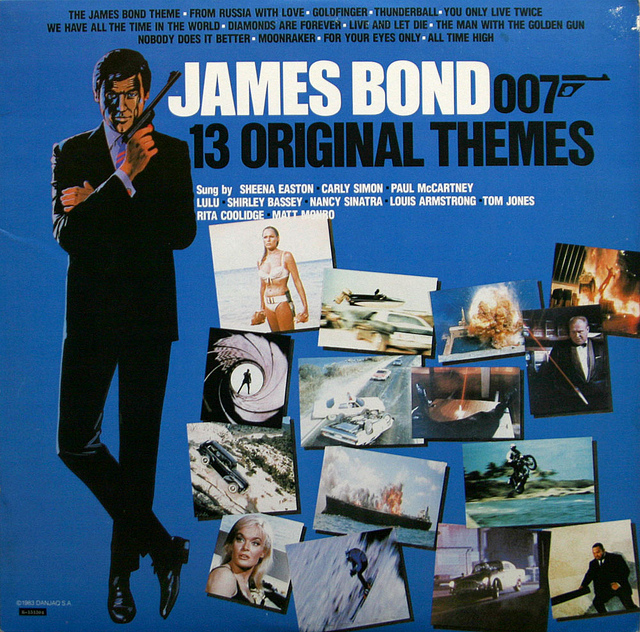JAMES BOND 007 13 ORIGINAL THEMES
