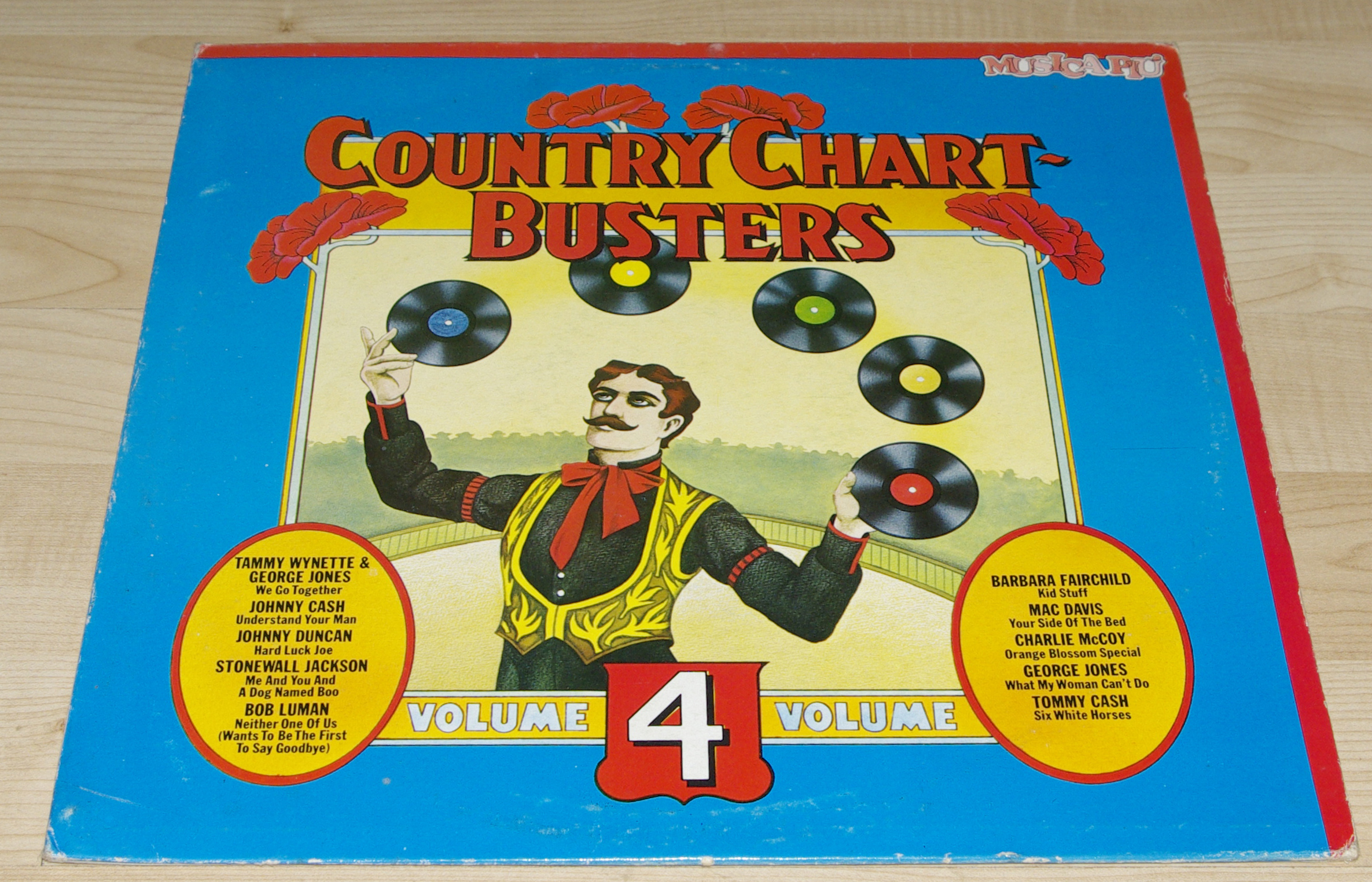 COUNTRY CHART BUSTERS VOLUME 4