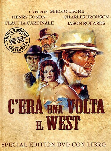 C'ERA UNA VOLTA IL WEST ( DVD + LIBRO )