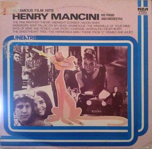 16 FAMOUS FILM HITS ( HENRY MANCINI ) PIANO AND ORCHESTRA