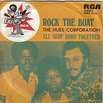 A : ROCK THE BOAT - B : ALL GOIN' DOWN TOGETHER