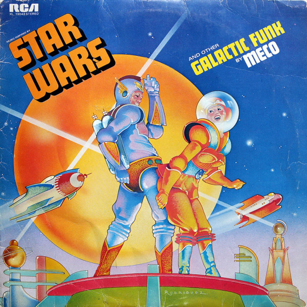Star Wars And Other Galactic Funk ( Italy 1977 )