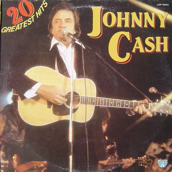 20 Greatest Hits * Johnny Cash *