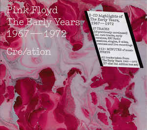 THE EARLY YEARS 1967 - 1972 CRE/ATION ( 2 CD )
