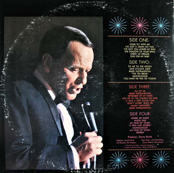 Sinatra* With Count Basie & The Orchestra* ‎– Sinatra At T