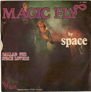 A : MAGIC FLY - B : Ballad For Space Lovers