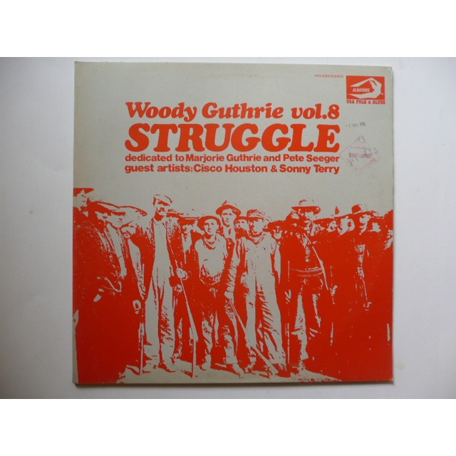 WOODY GUTHRIE VOL.8 STRUGGLE